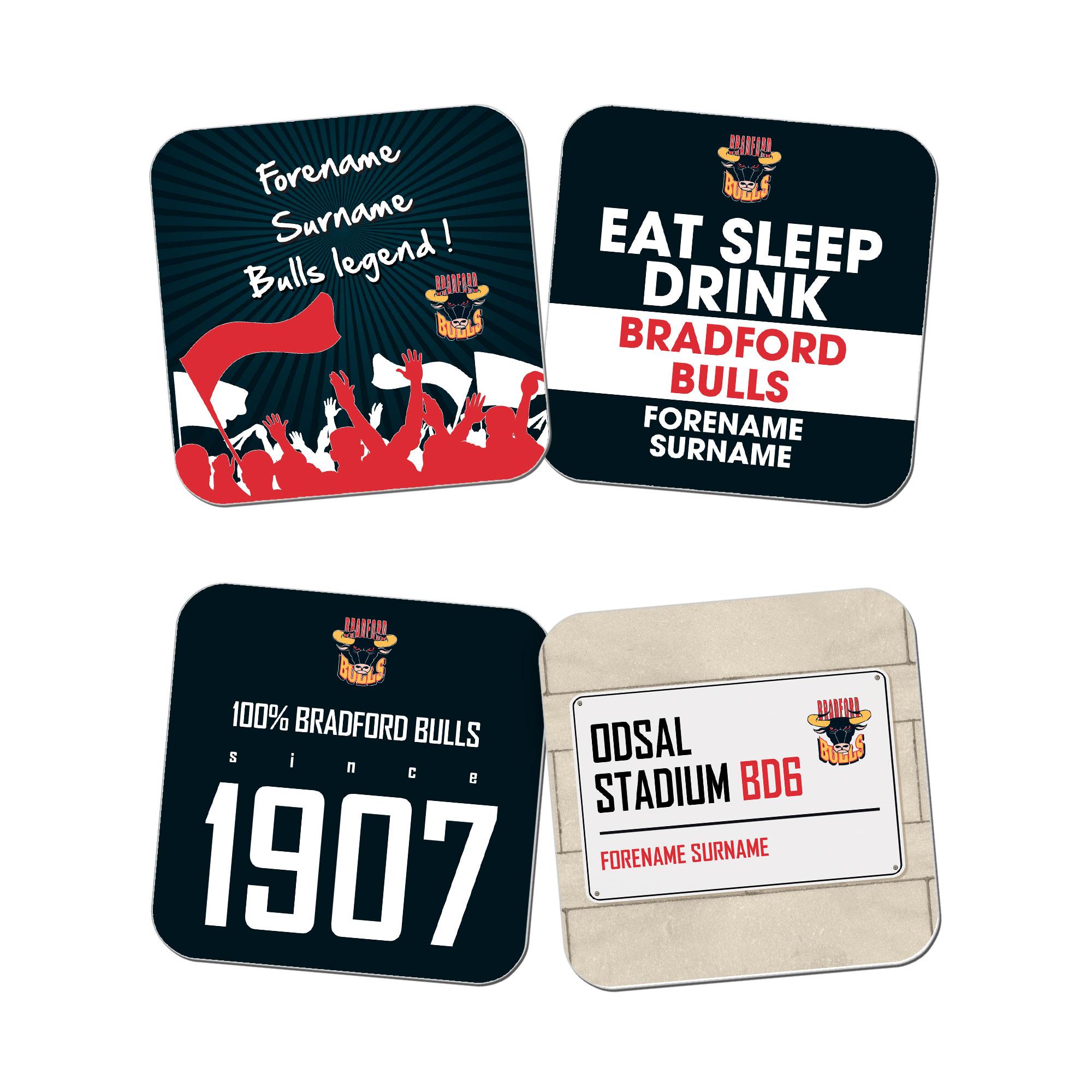 Bradford Bulls Coasters