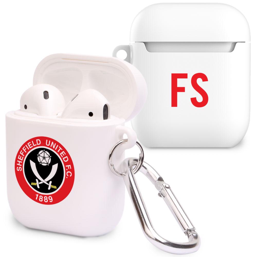 Sheffield United FC Initials Airpod Case