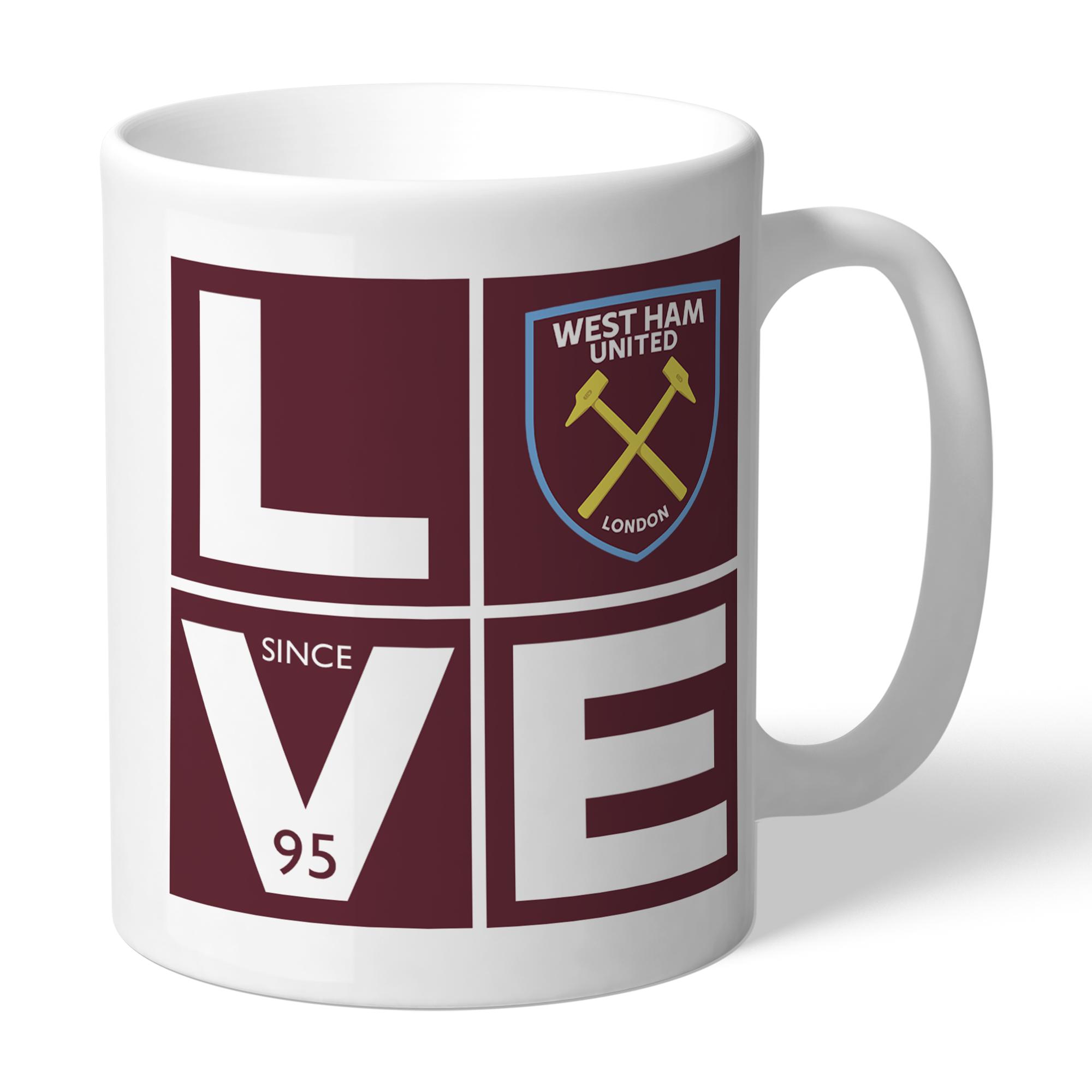 West Ham United FC Love Mug