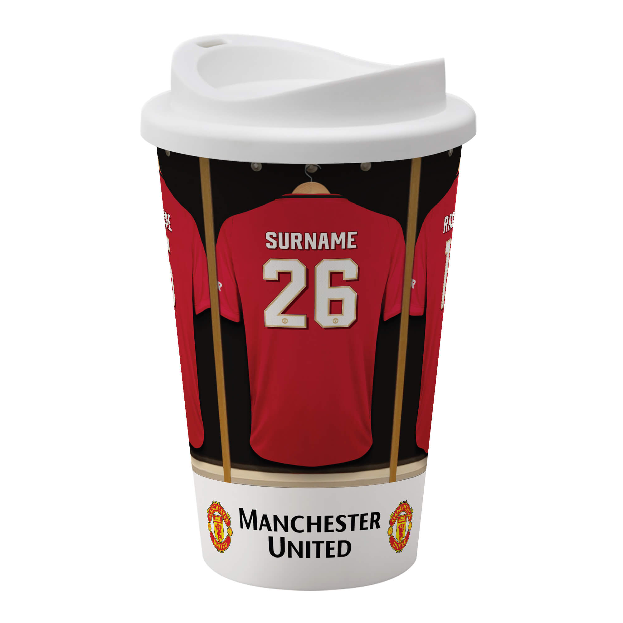 Manchester United FC Dressing Room Reusable Cup