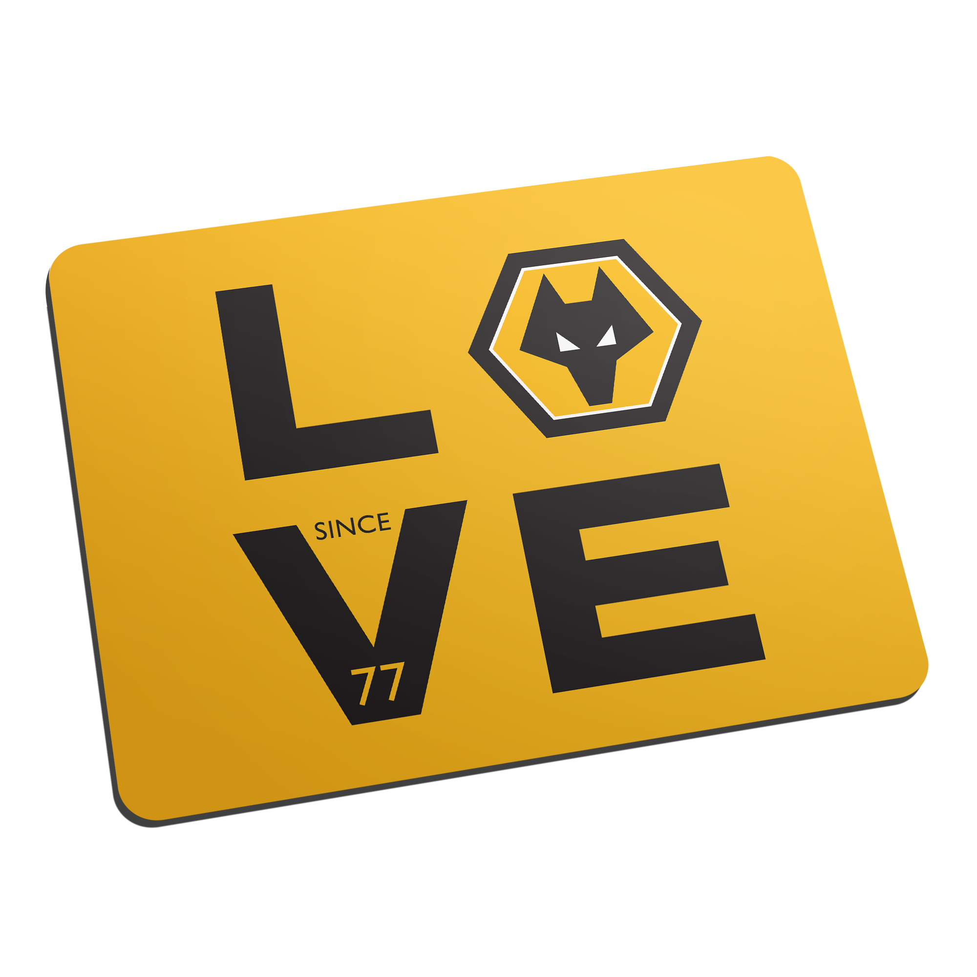 Wolverhampton Wanderers Love Mouse Mat