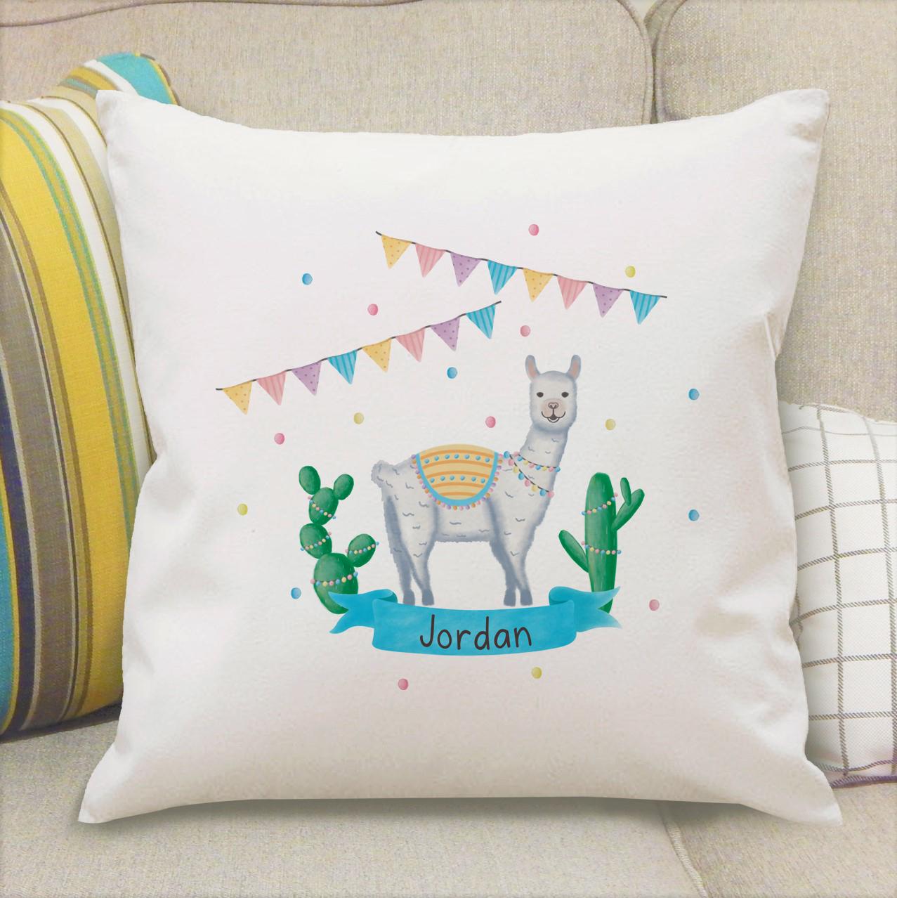 Llama Fiesta Cushion