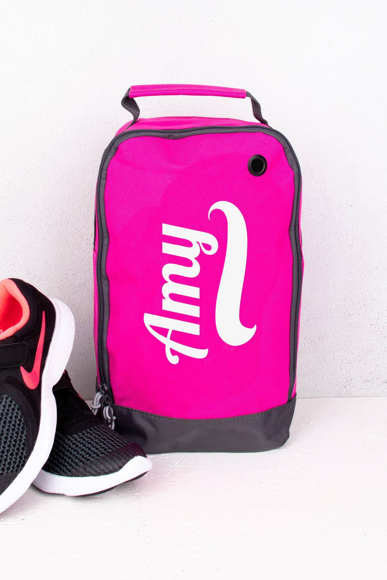 Pink Boot Bag