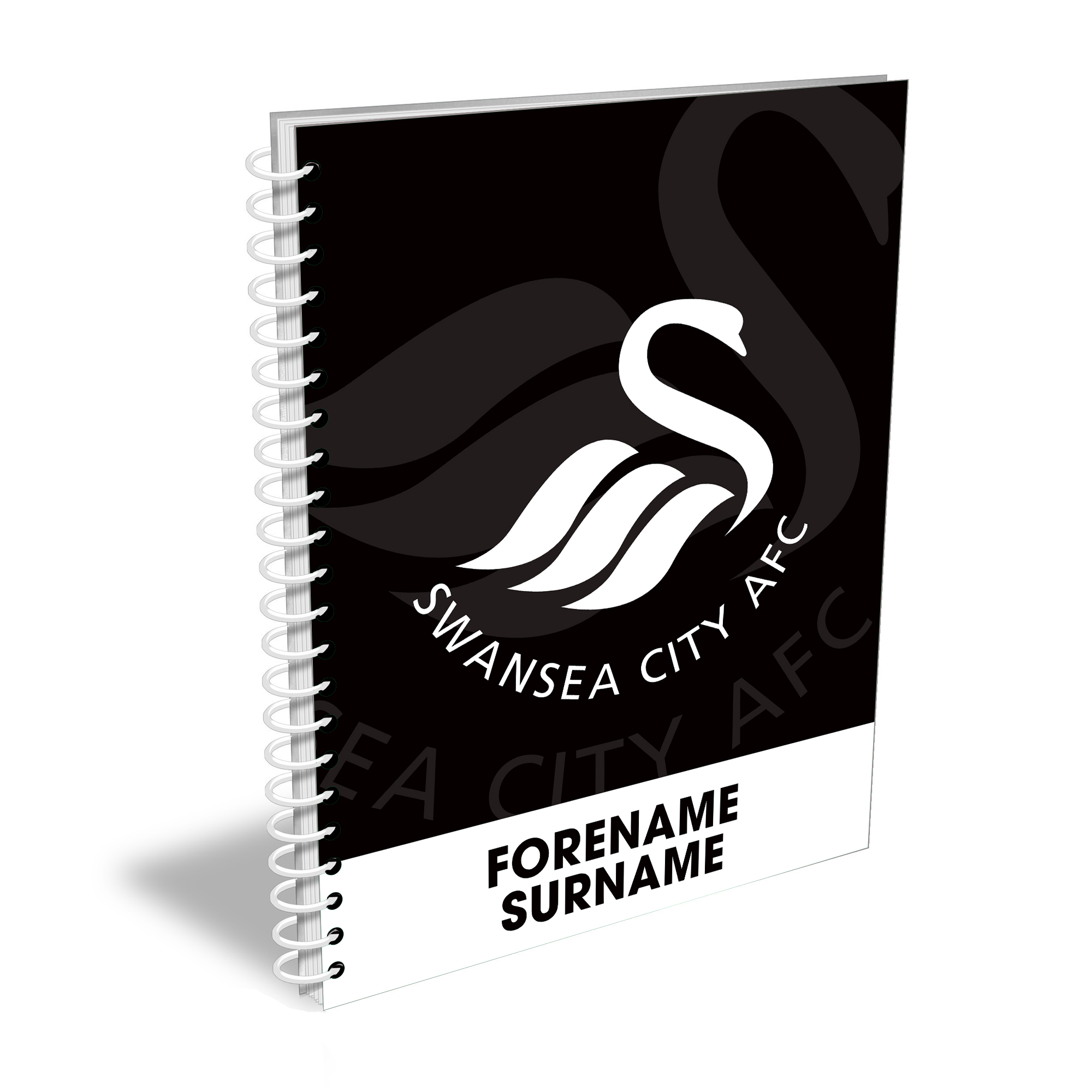Swansea City AFC Bold Crest Notebook
