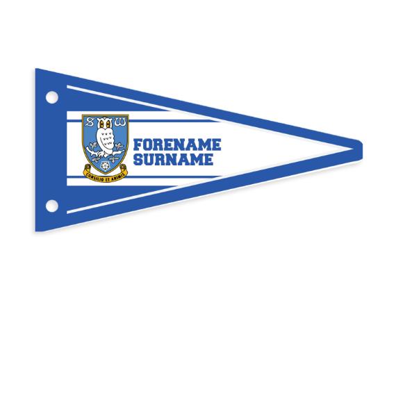 Sheffield Wednesday FC Varsity Pennant