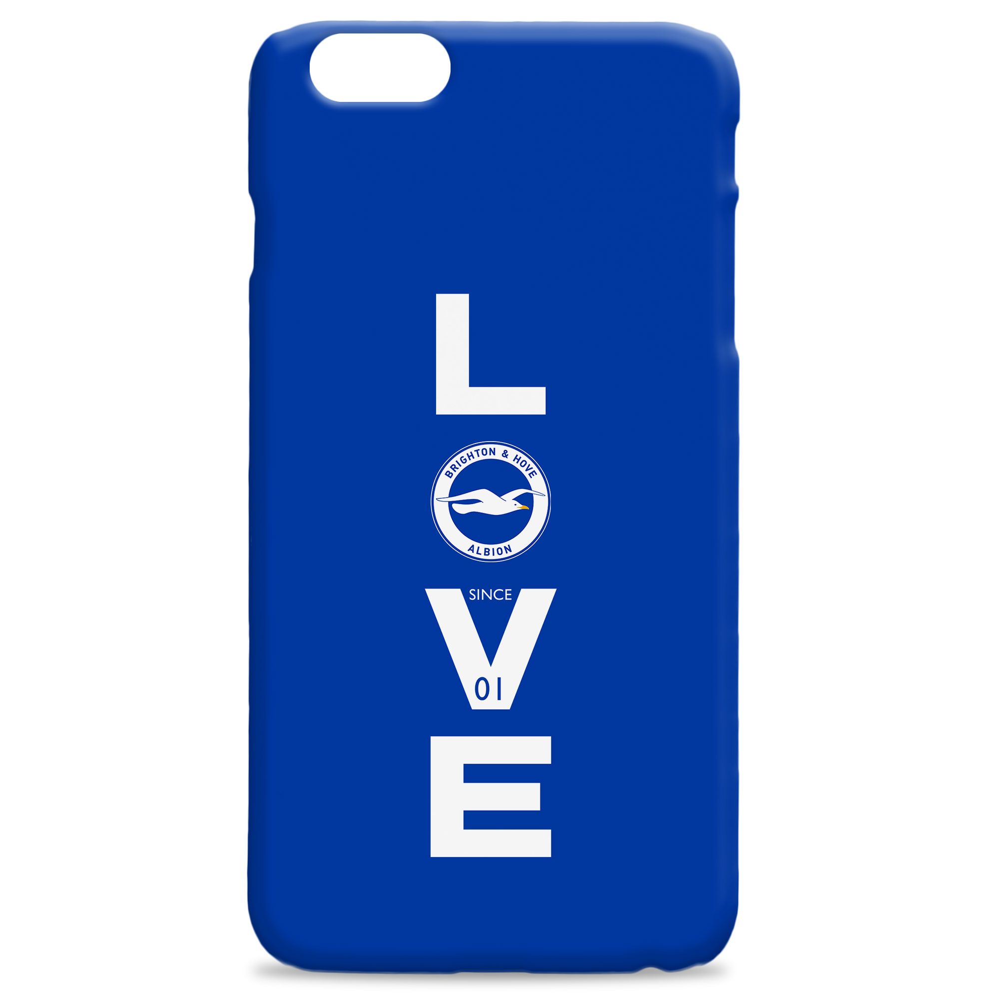 Brighton & Hove Albion FC Love Hard Back Phone Case
