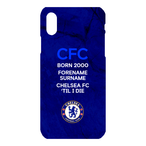 Chelsea FC 'Til I Die iPhone X Phone Case