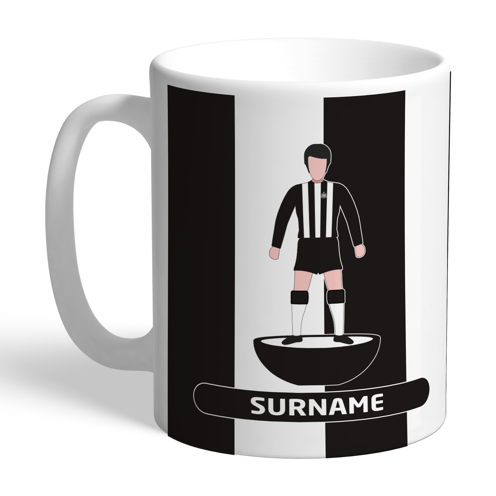 Newcastle United FC Player Figure Mug