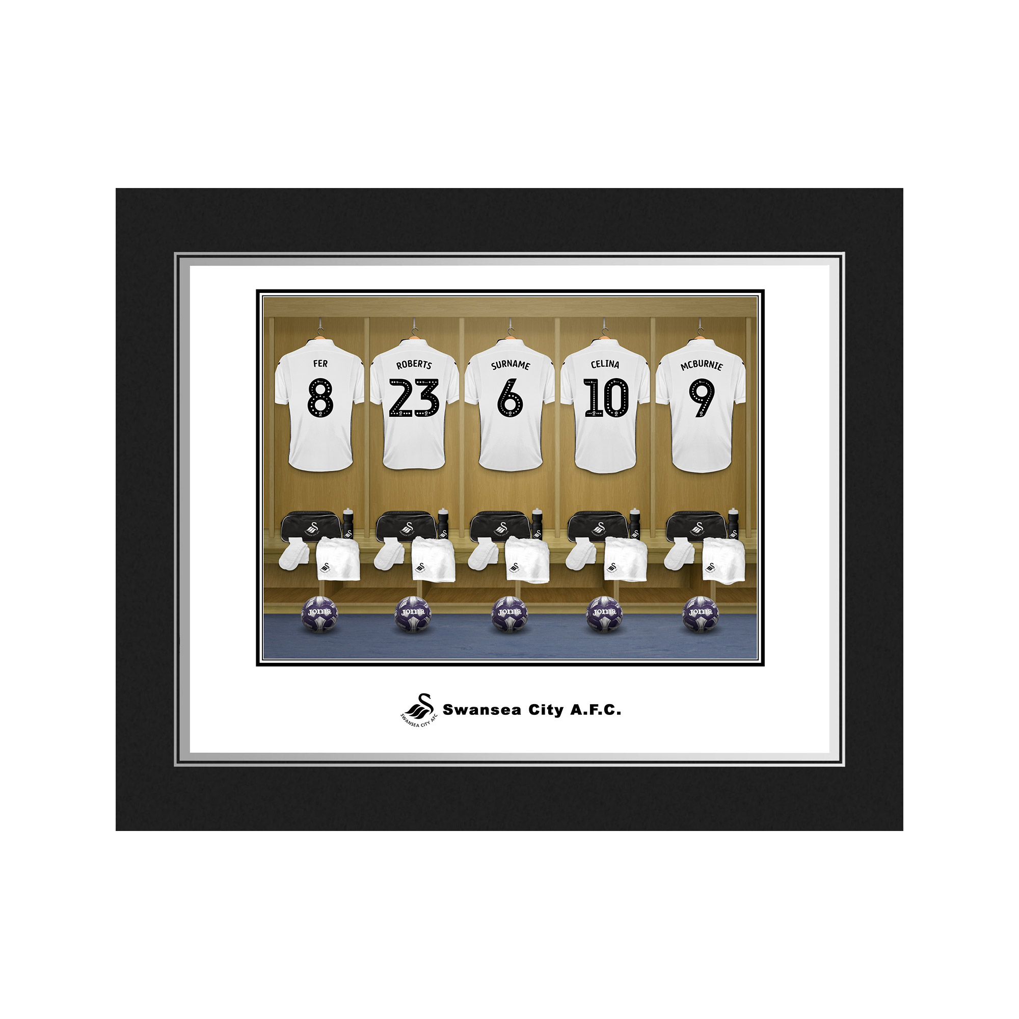 Swansea City AFC Dressing Room Photo Folder