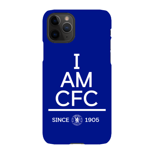 Chelsea FC I Am iPhone 11 Pro Phone Case