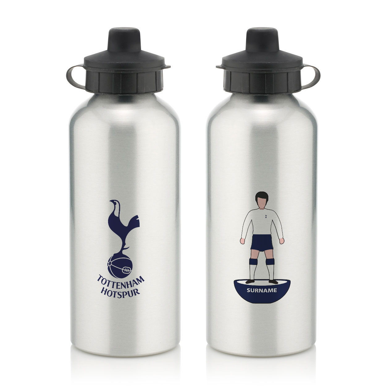 Tottenham Hotspur FC Player Figure Water Bottle