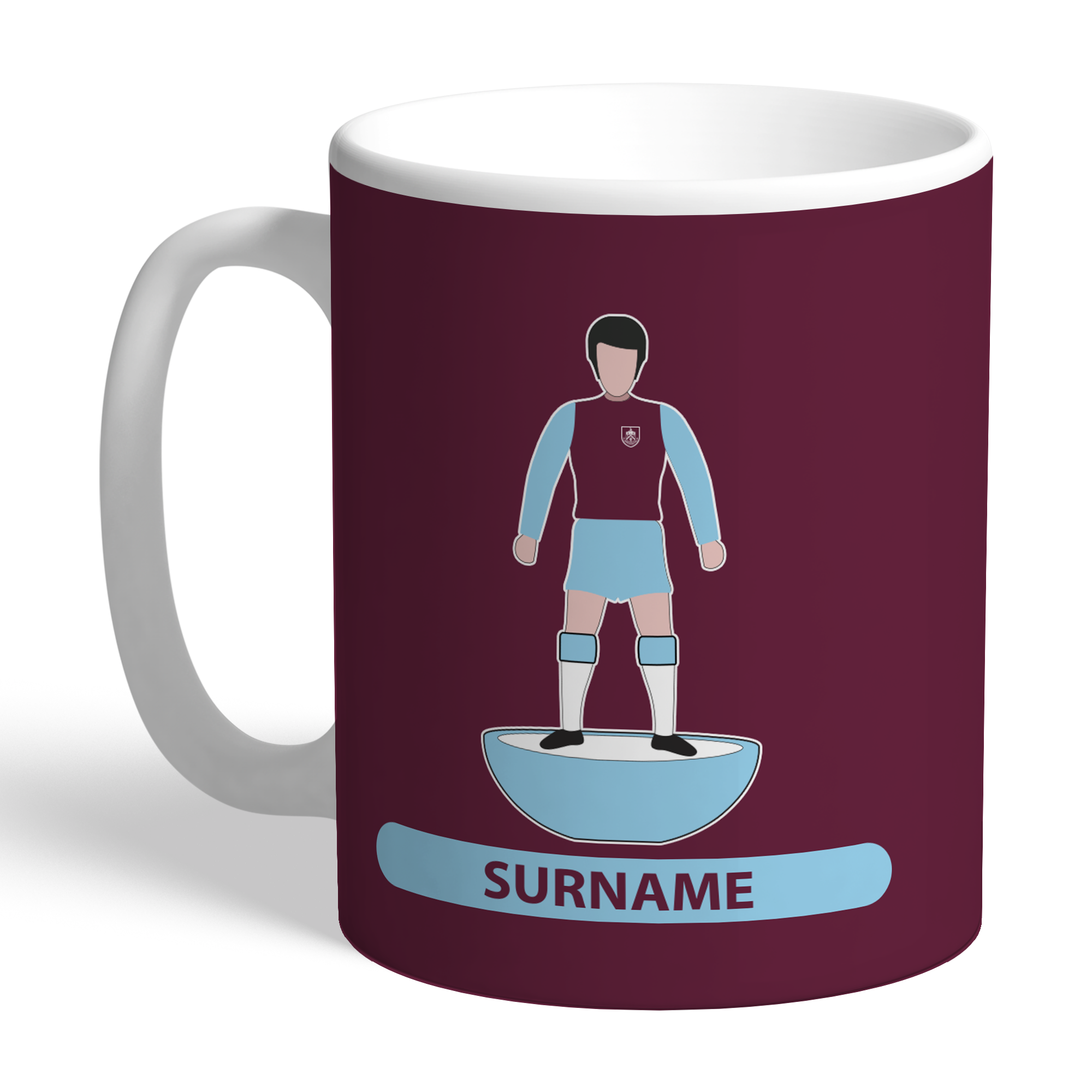 Burnley FC Player Figure Mug