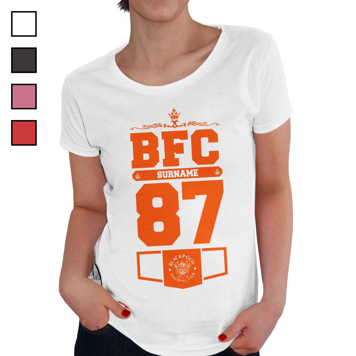 Blackpool FC Ladies Club T-Shirt
