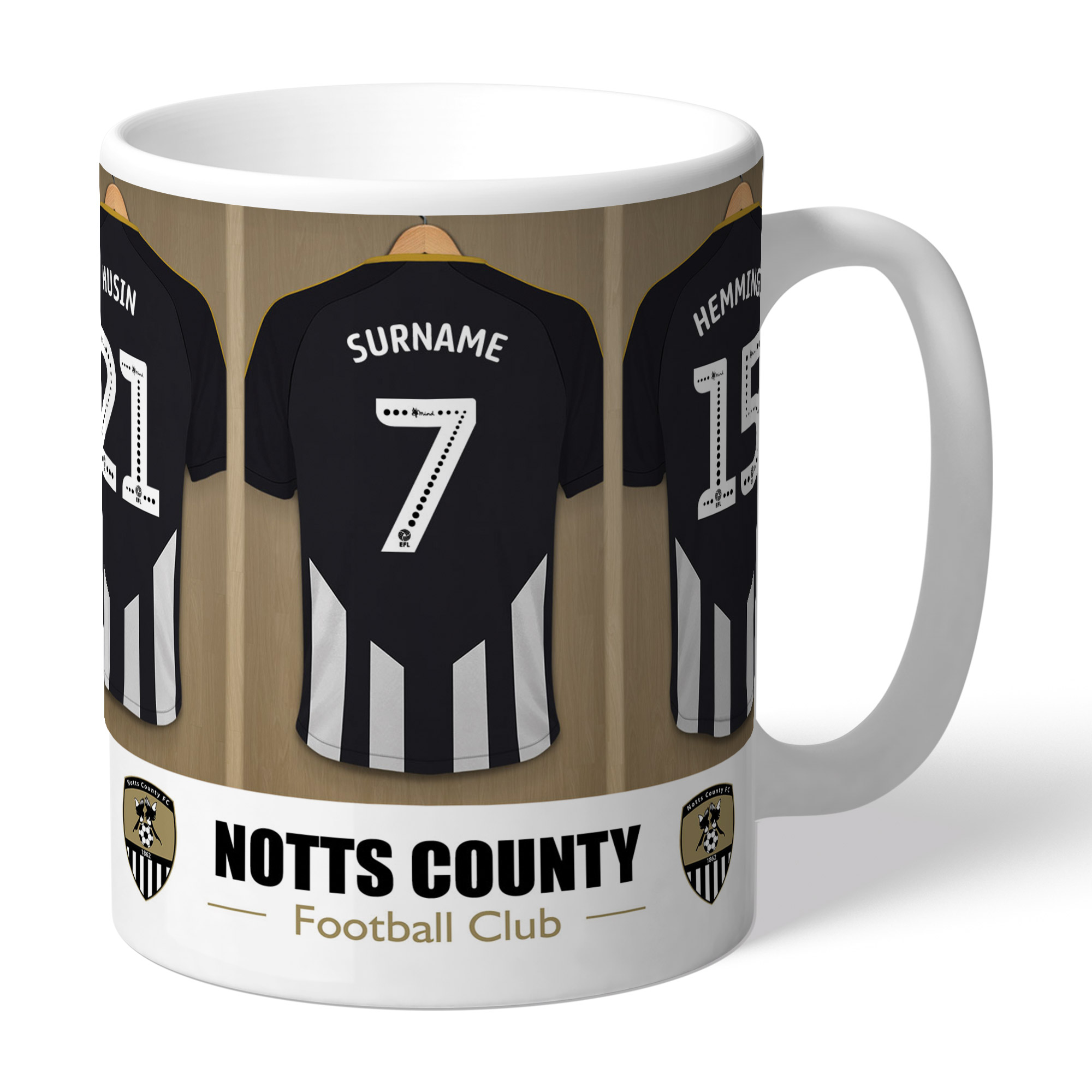 Notts County FC Dressing Room Mug