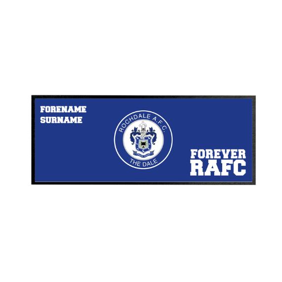 Rochdale AFC Forever Regular Bar Runner