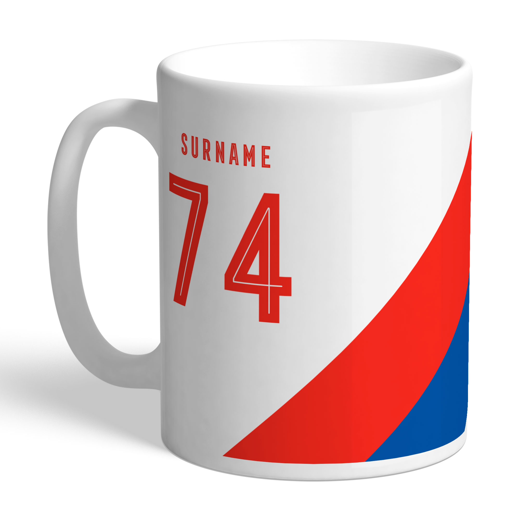 Crystal Palace FC Stripe Mug