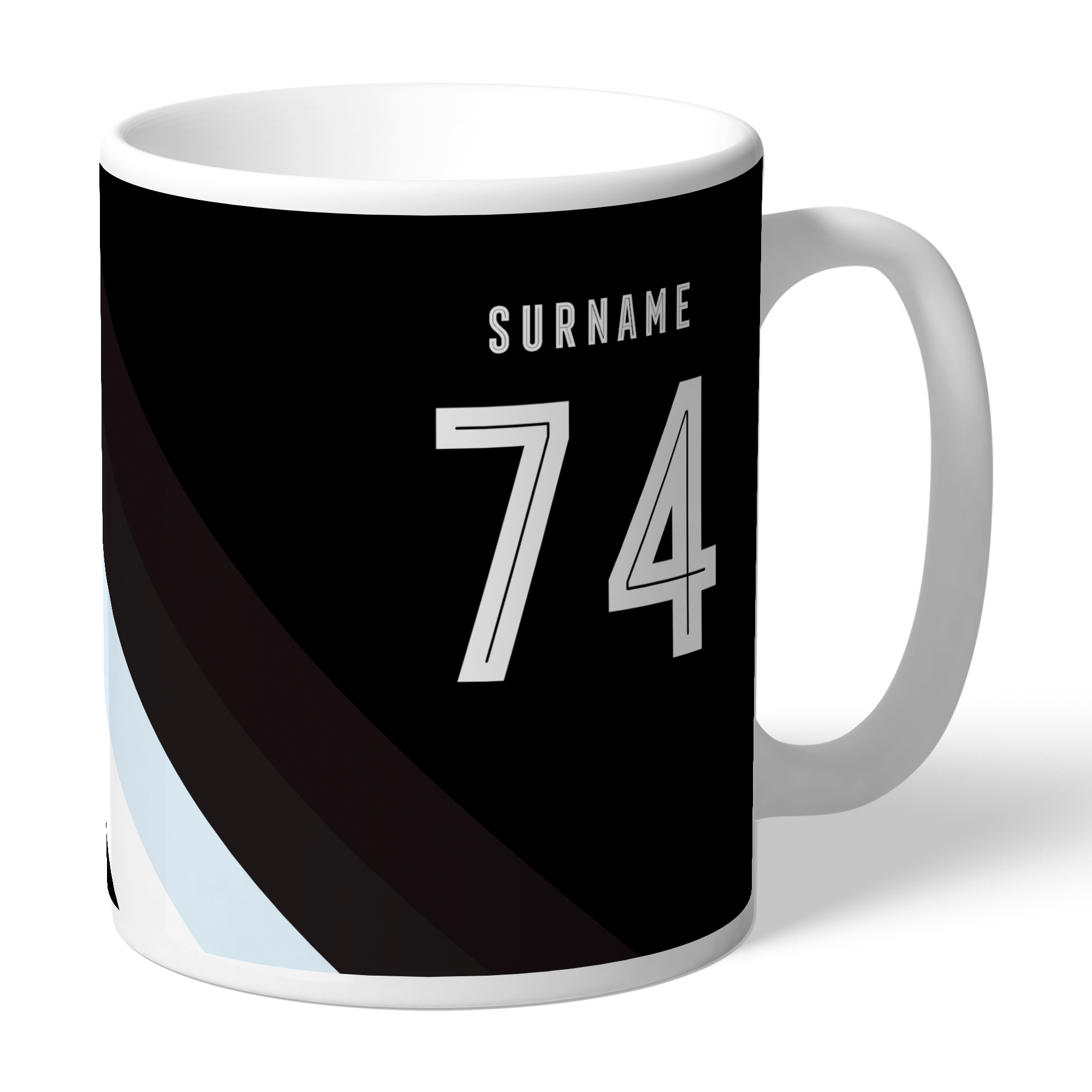 Derby County Stripe Mug