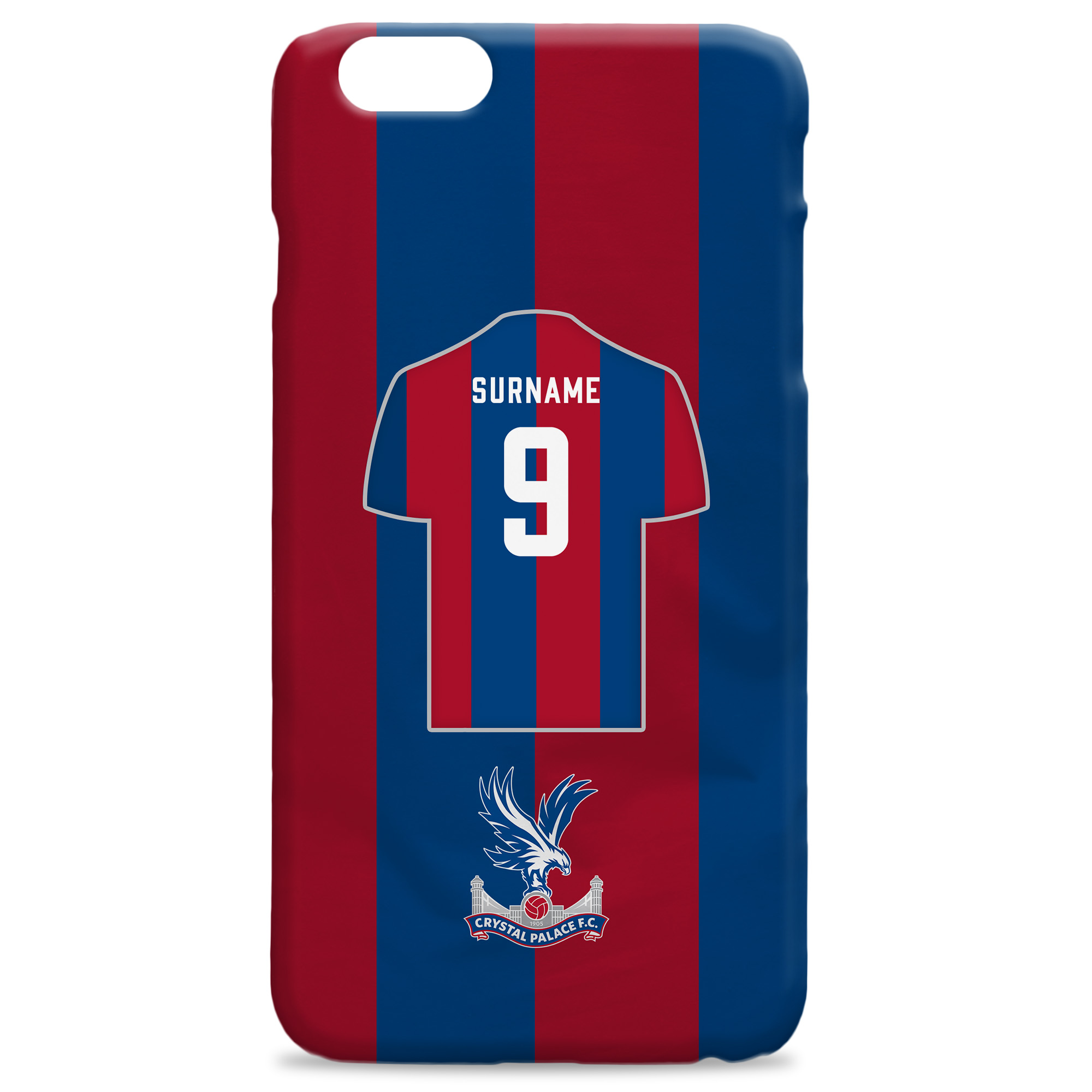 Crystal Palace FC Shirt Hard Back Phone Case