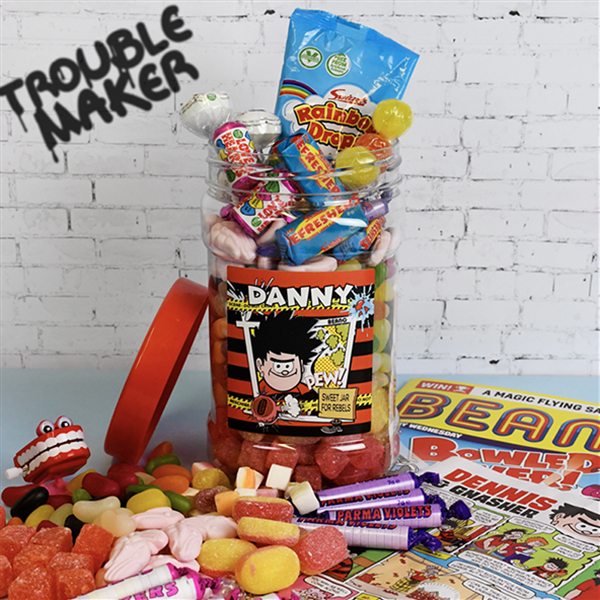 Beano - Retro Sweets Jar