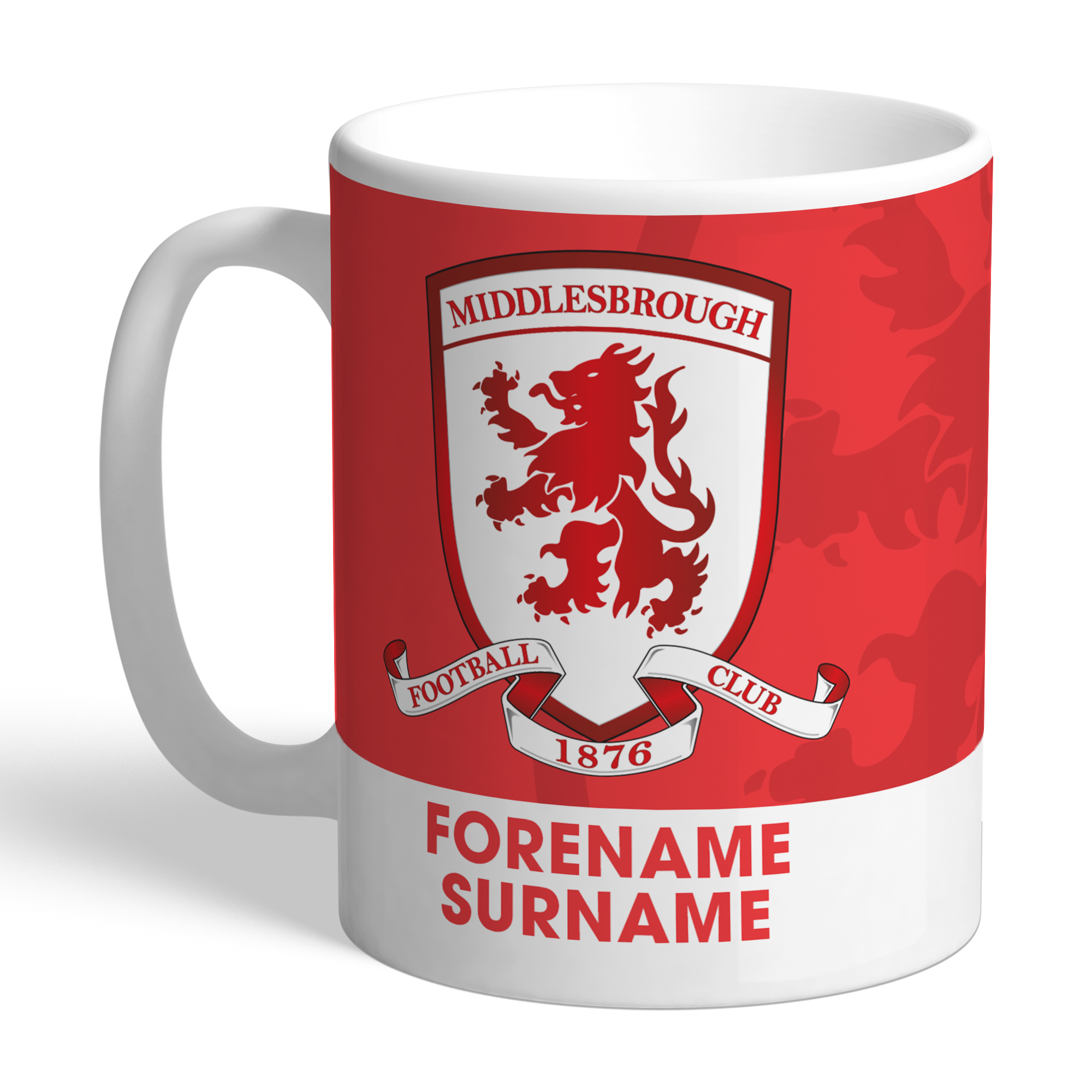 Middlesbrough Bold Crest Mug