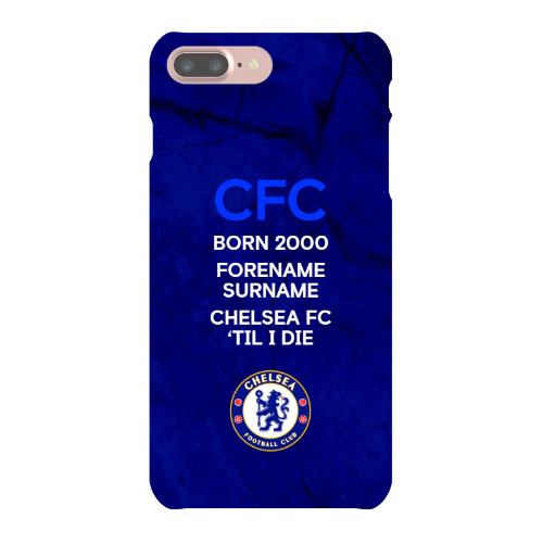 Chelsea FC 'Til I Die iPhone 8 Phone Case