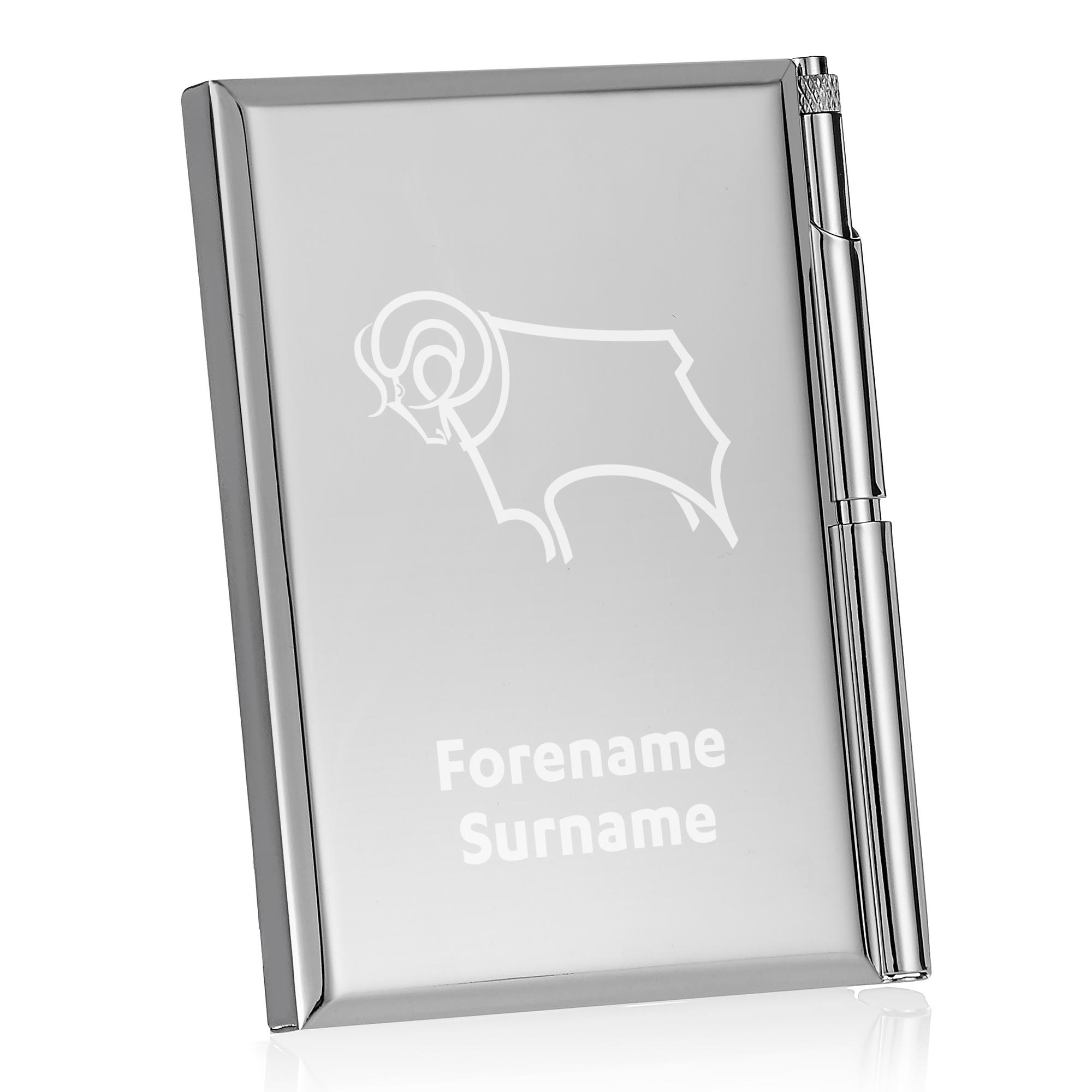 Derby County Crest Address Book