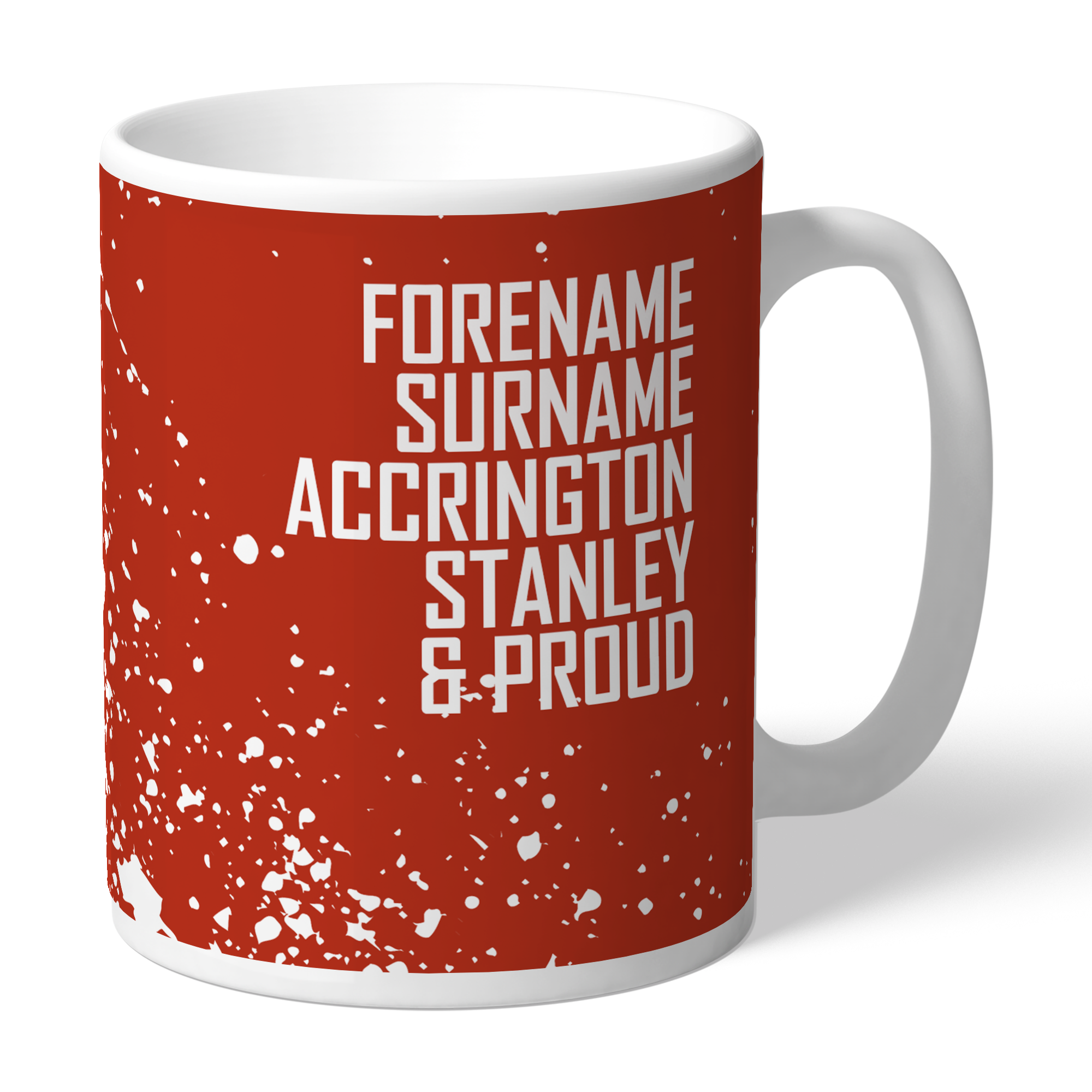 Accrington Stanley Proud Mug