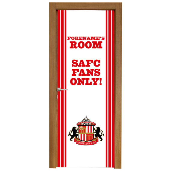 Sunderland Stripe Door Banner