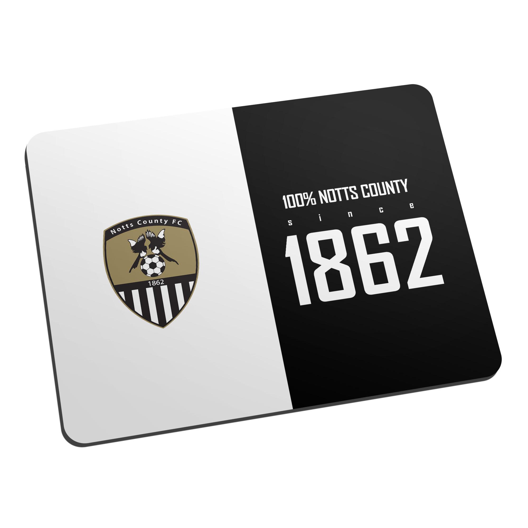 Notts County FC 100 Percent Mouse Mat