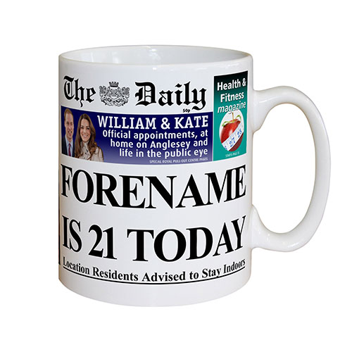 The Daily Birthday Mug