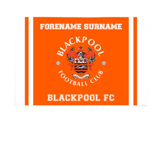Blackpool Crest 6ft x 4ft Banner