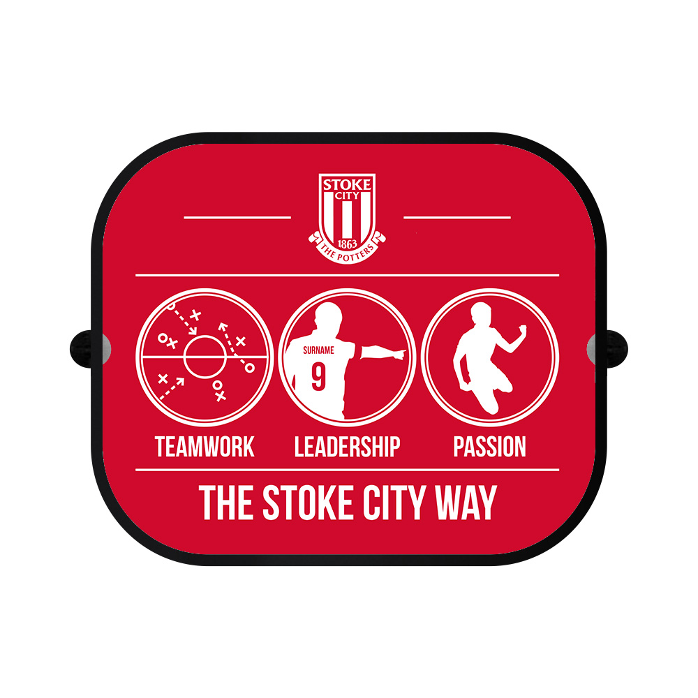 Stoke City FC Way Car Sunshade