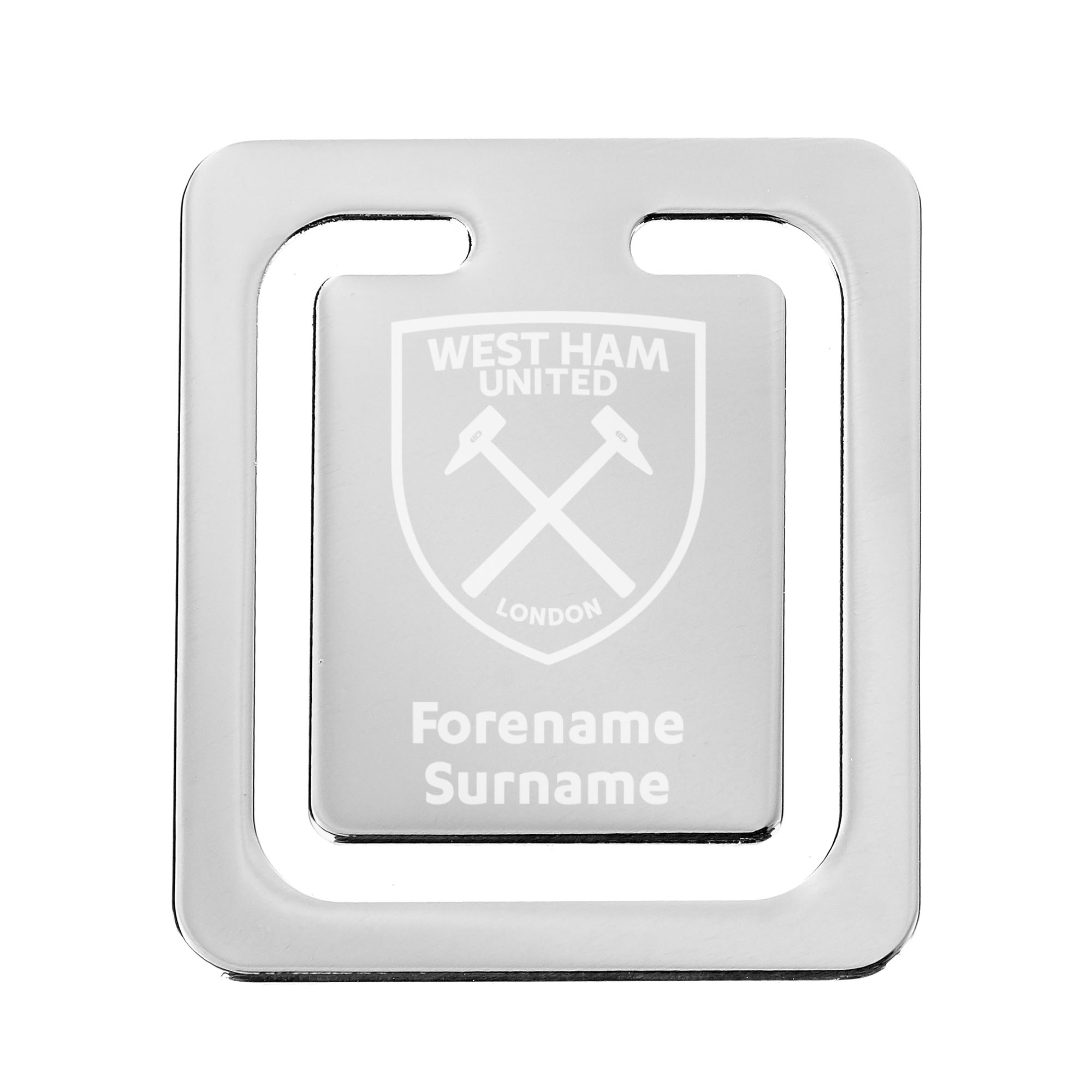 West Ham United FC Crest Bookmark