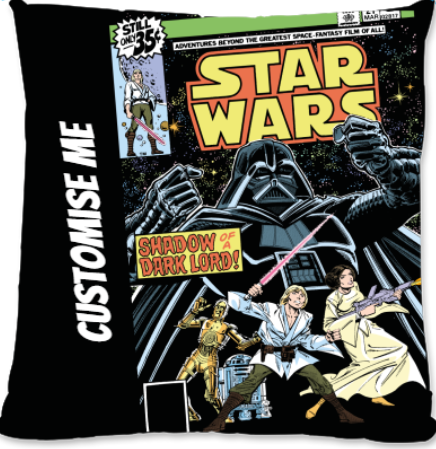 Star Wars Classic Comic Print Large Fibre Cushion
