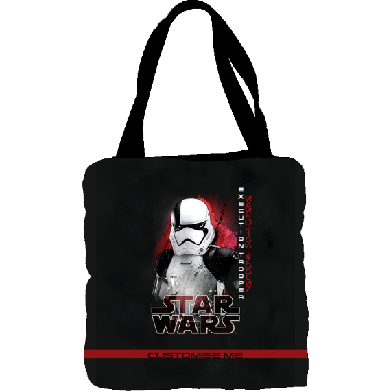 Star Wars Execution Trooper Last Jedi Spray Paint Tote Bag