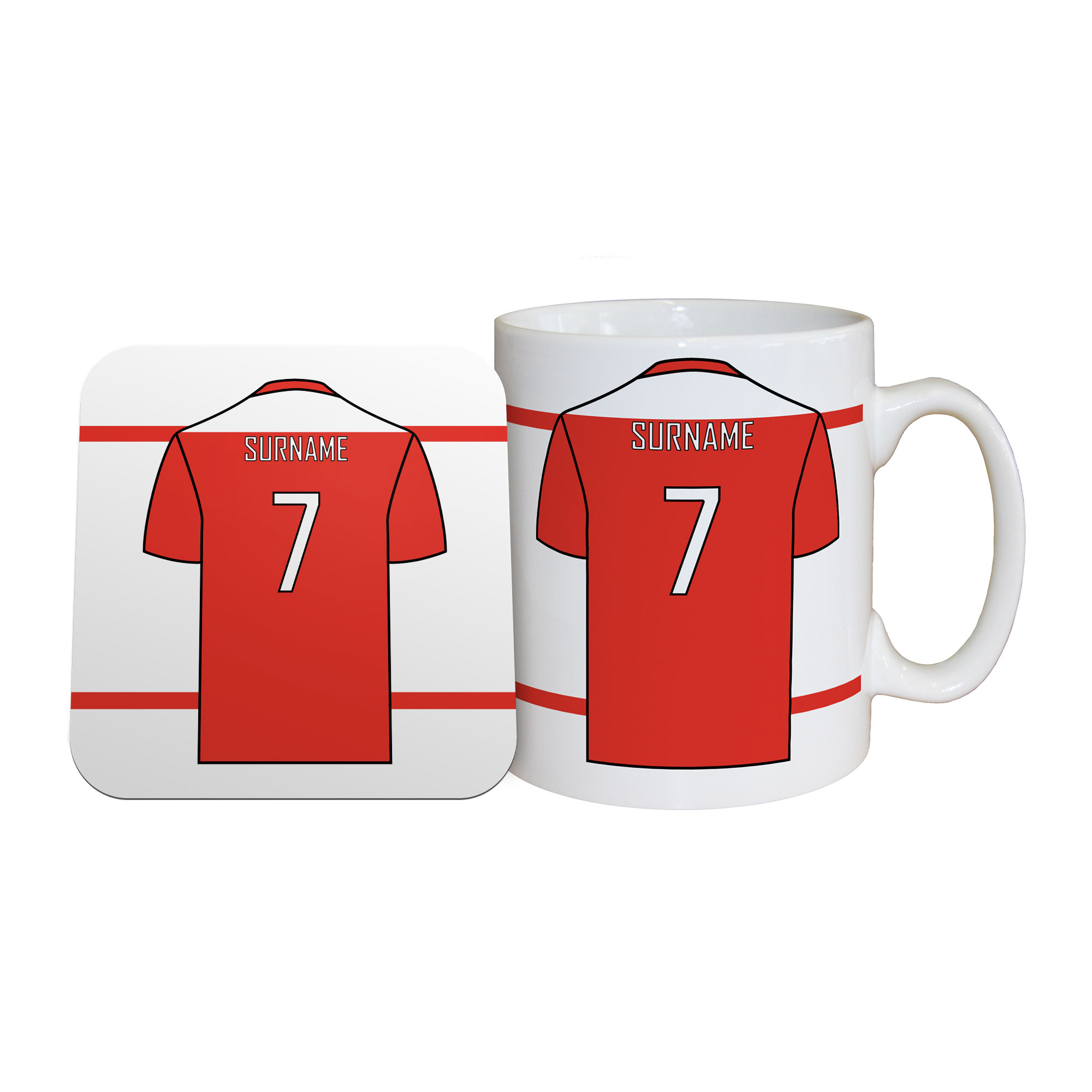 Wrexham AFC Shirt Mug & Coaster Set