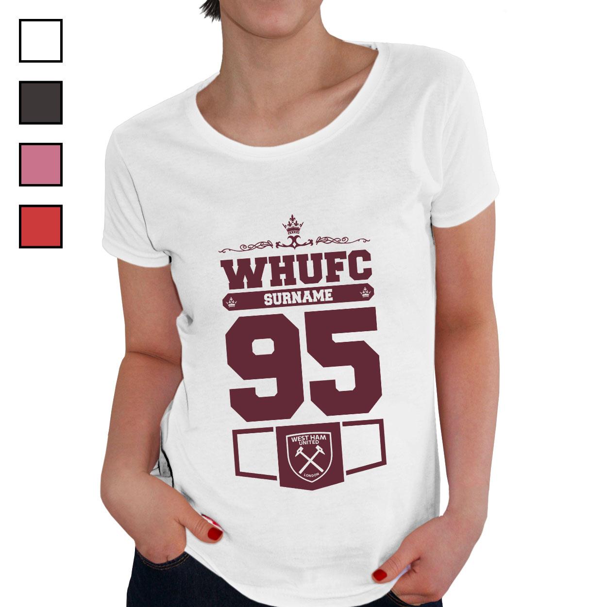 West Ham United FC Ladies Club T-Shirt