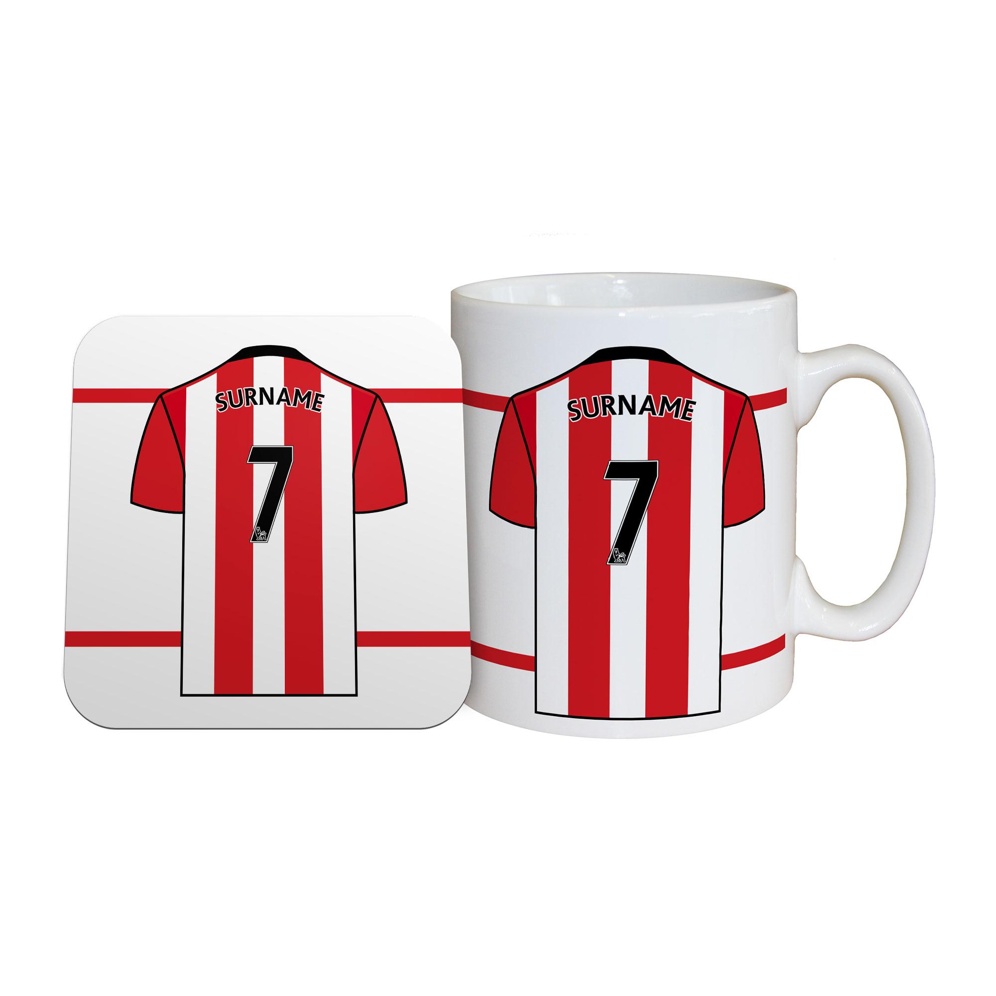 Southampton FC Shirt Mug & Coaster Set