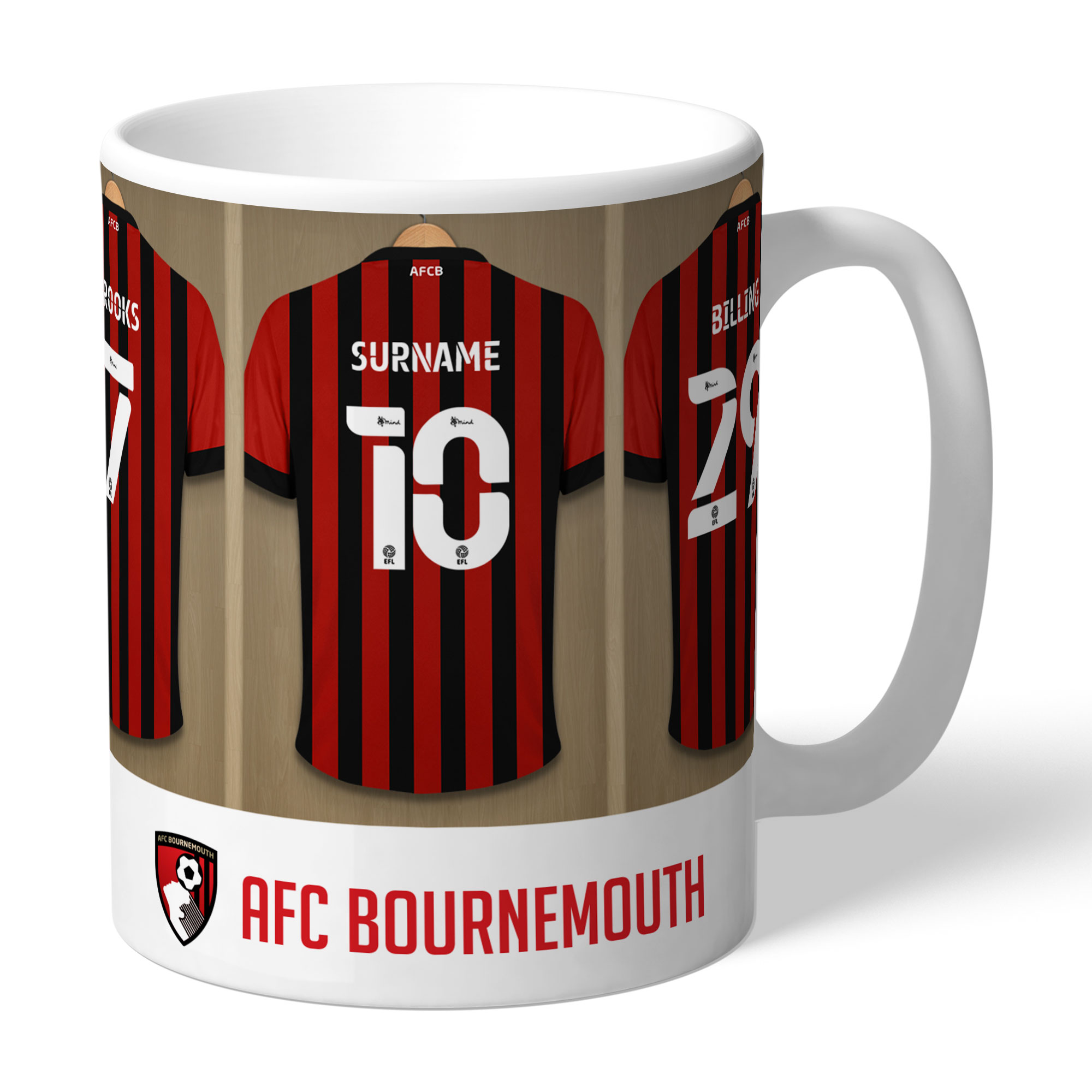 AFC Bournemouth Dressing Room Mug