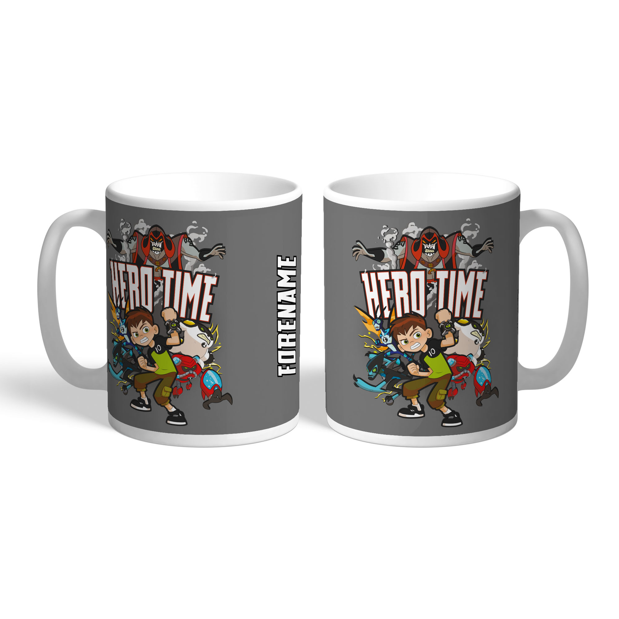 Ben 10 Group Hero Time Mug