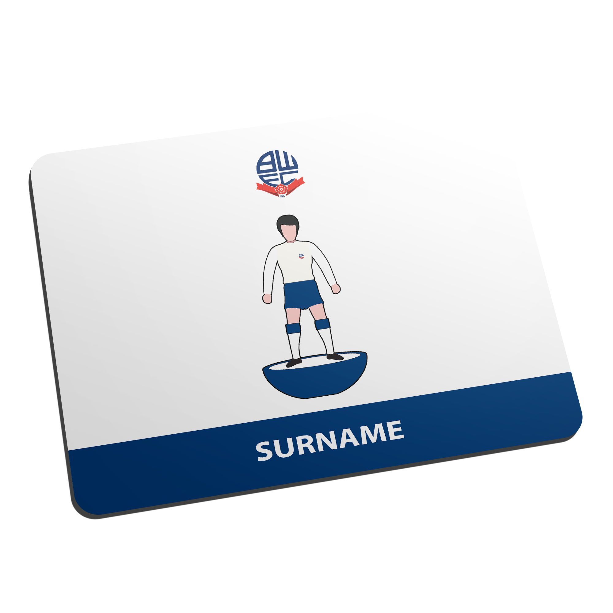 Bolton Wanderers Player Figure Mouse Mat