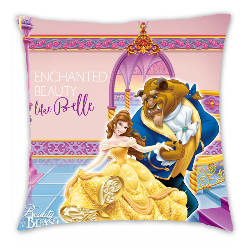 Disney Beauty and The Beast Dance Cushion