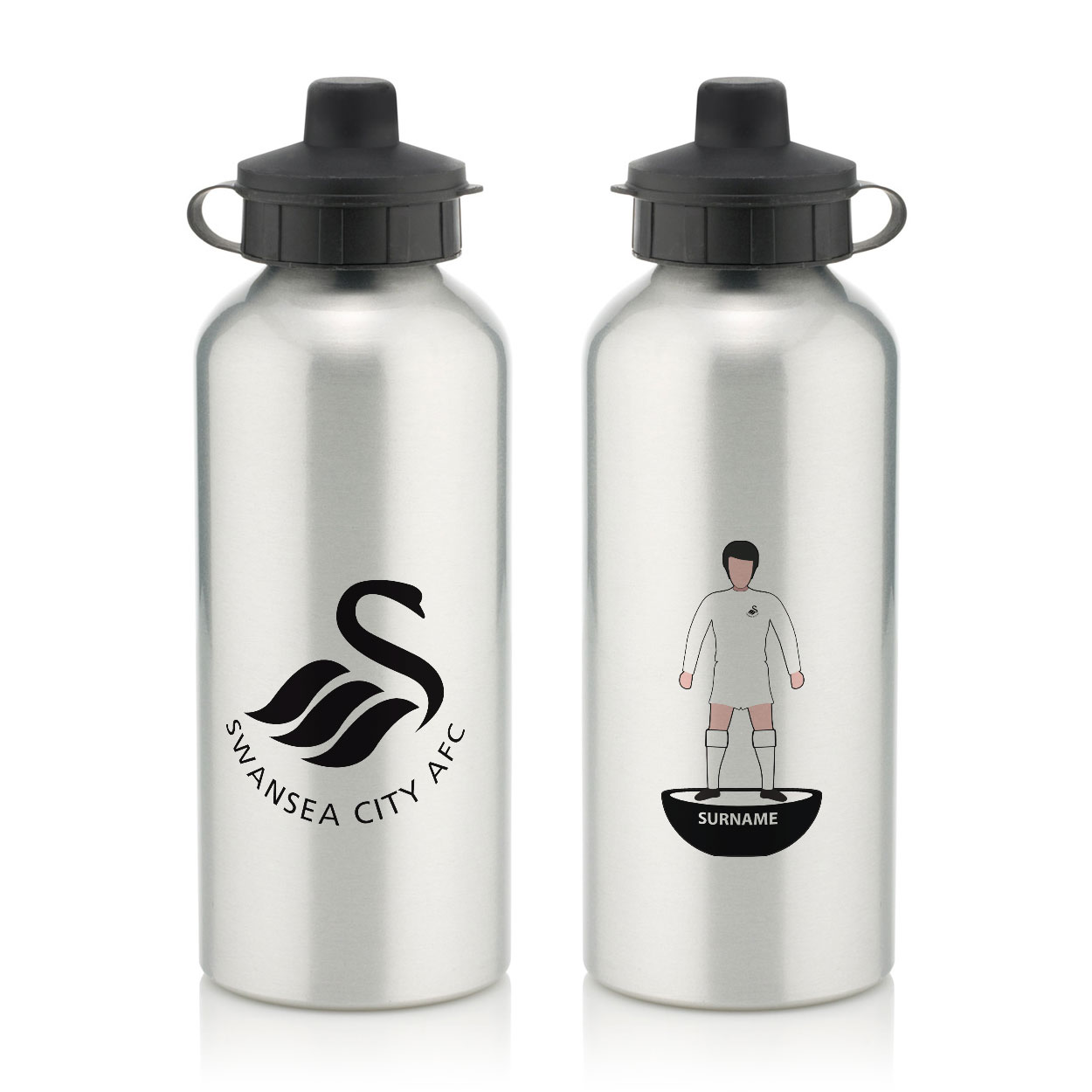 Swansea City AFC Player Figure Water Bottle