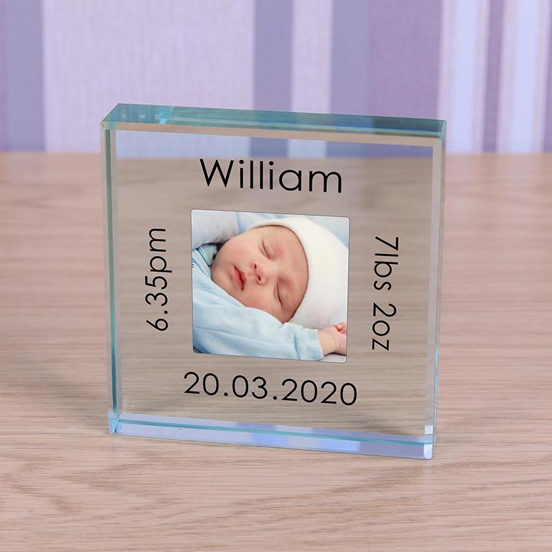 Glass Token - New Baby