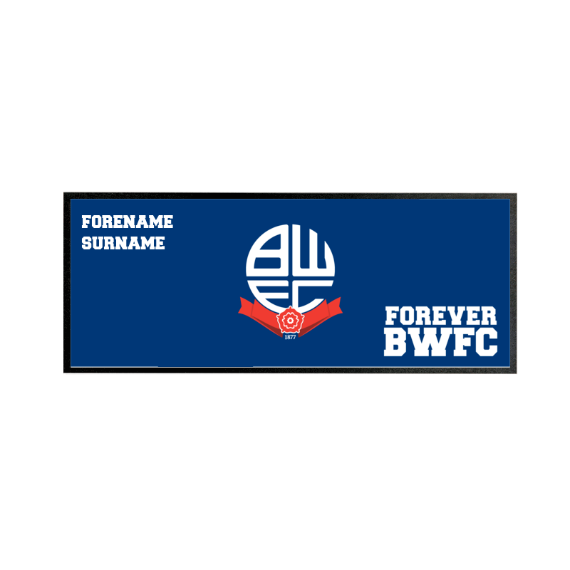 Bolton Wanderers FC Forever Regular Bar Runner