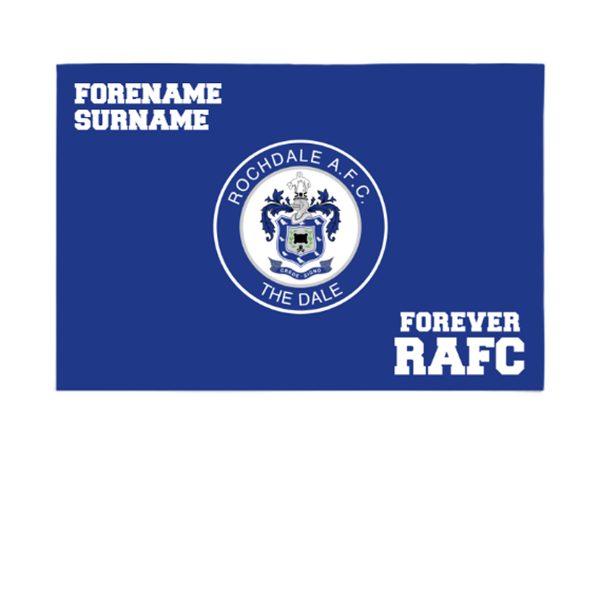 Rochdale AFC Forever 6ft x 4ft Banner