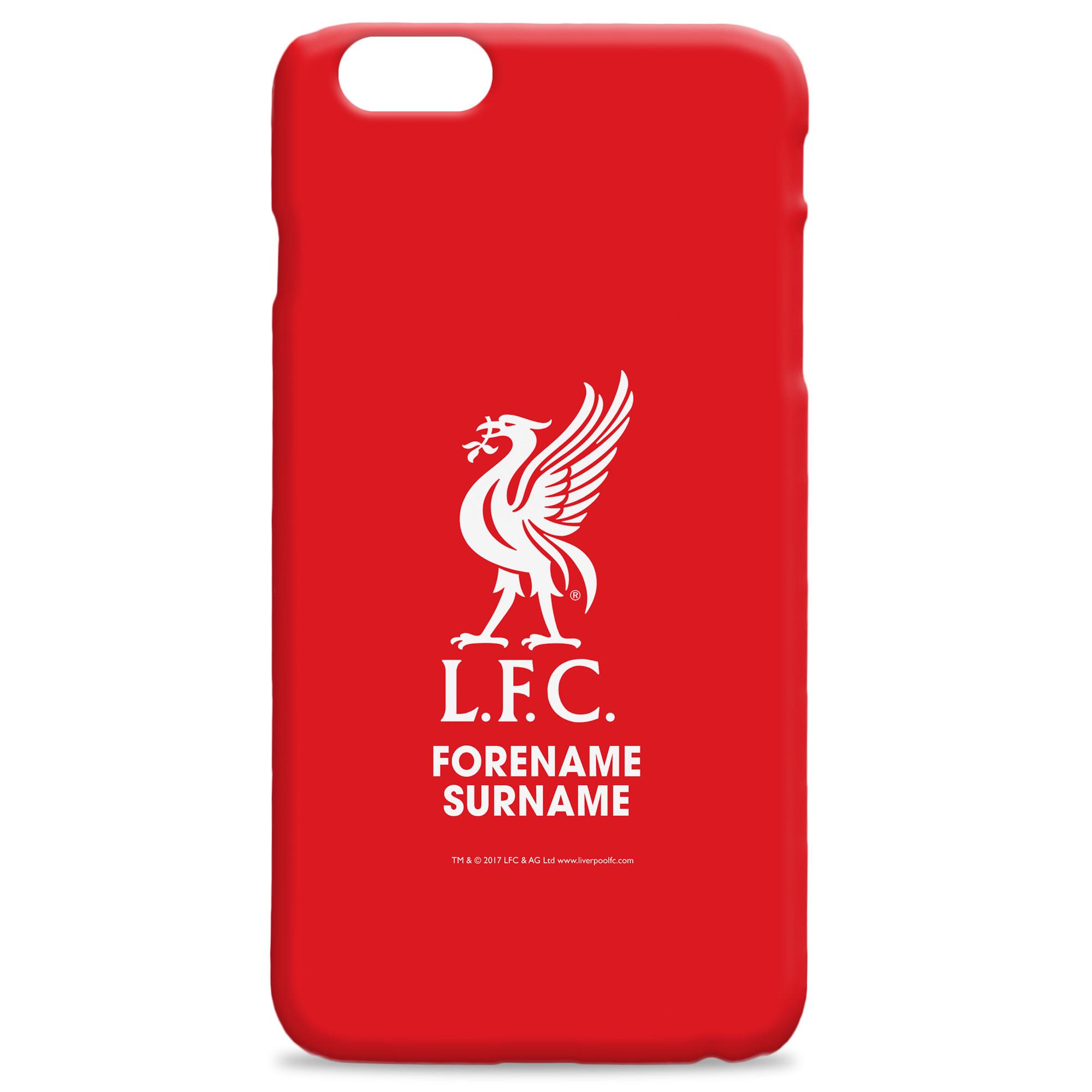 Liverpool FC Bold Crest Hard Back Phone Case