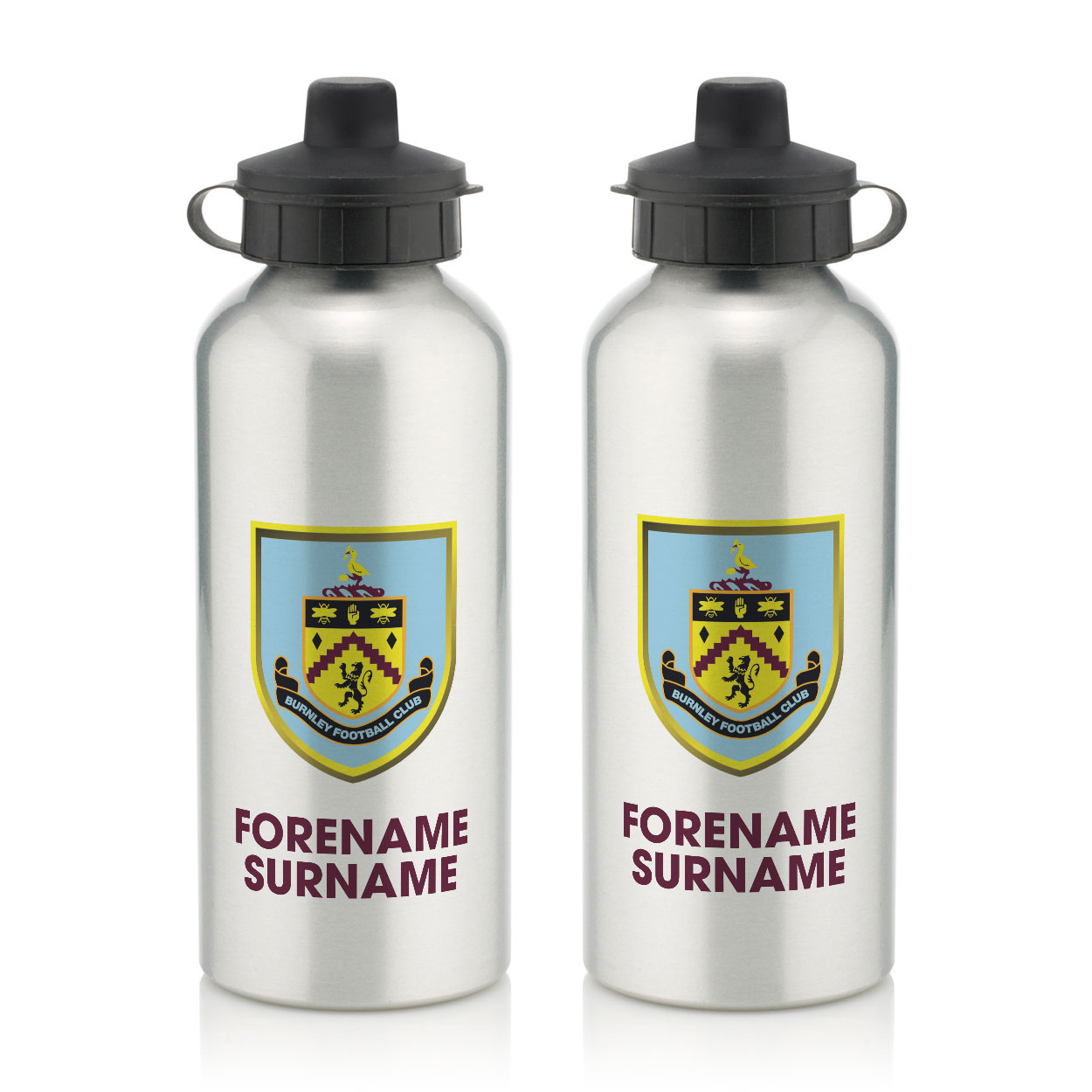 Burnley FC Bold Crest Water Bottle