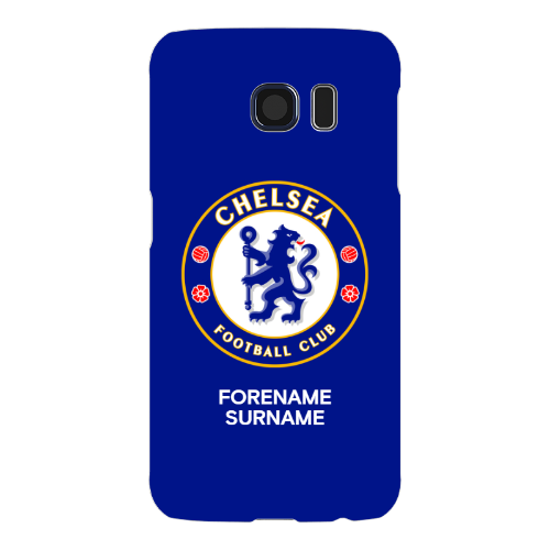 Chelsea FC Bold Crest Samsung Galaxy S6 Phone Case