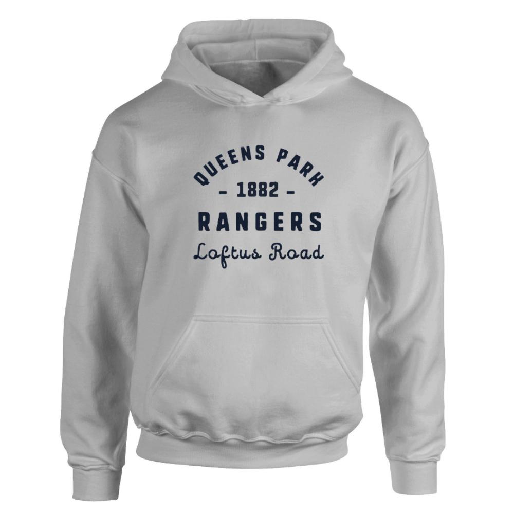 Queens Park Rangers FC Stadium Vintage Hoodie